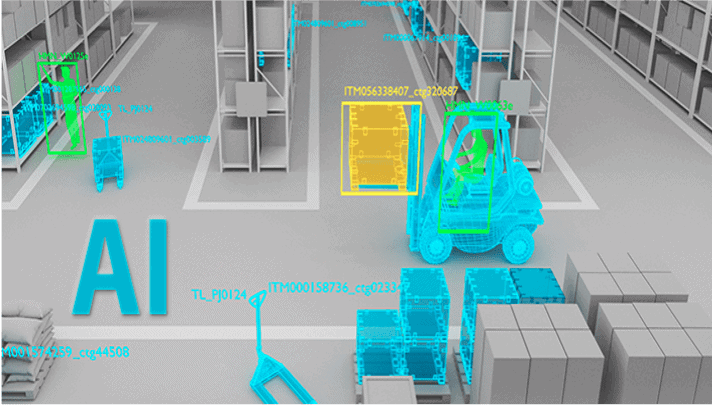 smart warehousing Artificial intelligence voor de logistiek