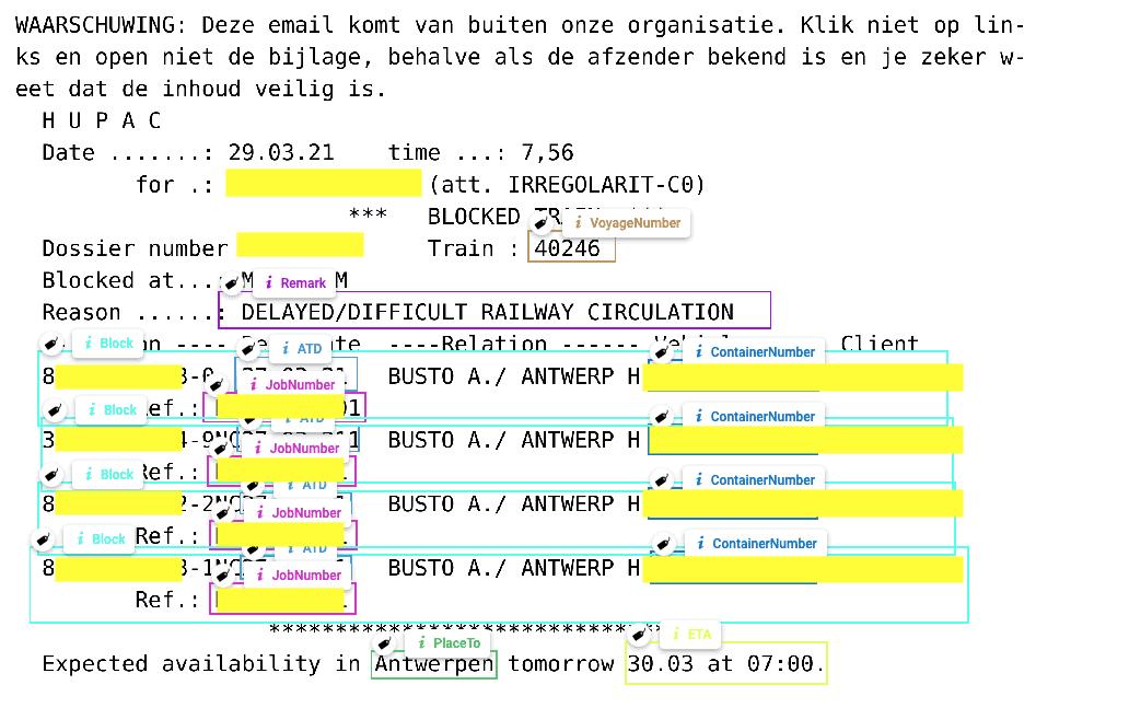 deep learning OCR software logistieke documenten